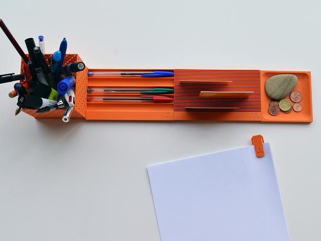 个性化笔筒模型 3D模型  图3