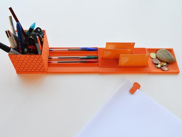 个性化笔筒模型 3D模型  图2