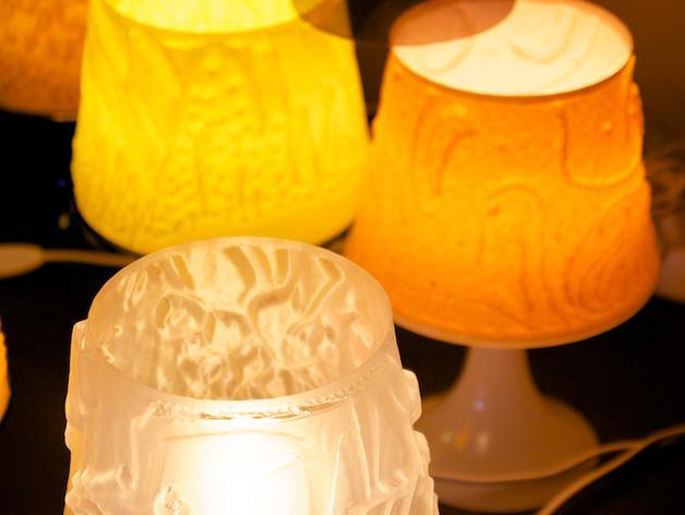 宜家拉姆本台灯灯罩模型 3D模型  图4