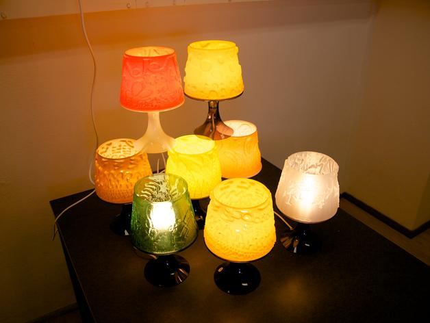 宜家拉姆本台灯灯罩模型 3D模型  图5