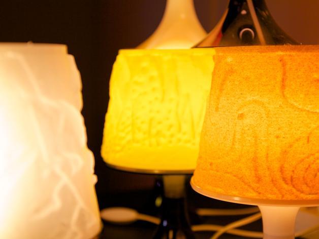 宜家拉姆本台灯灯罩模型 3D模型  图6