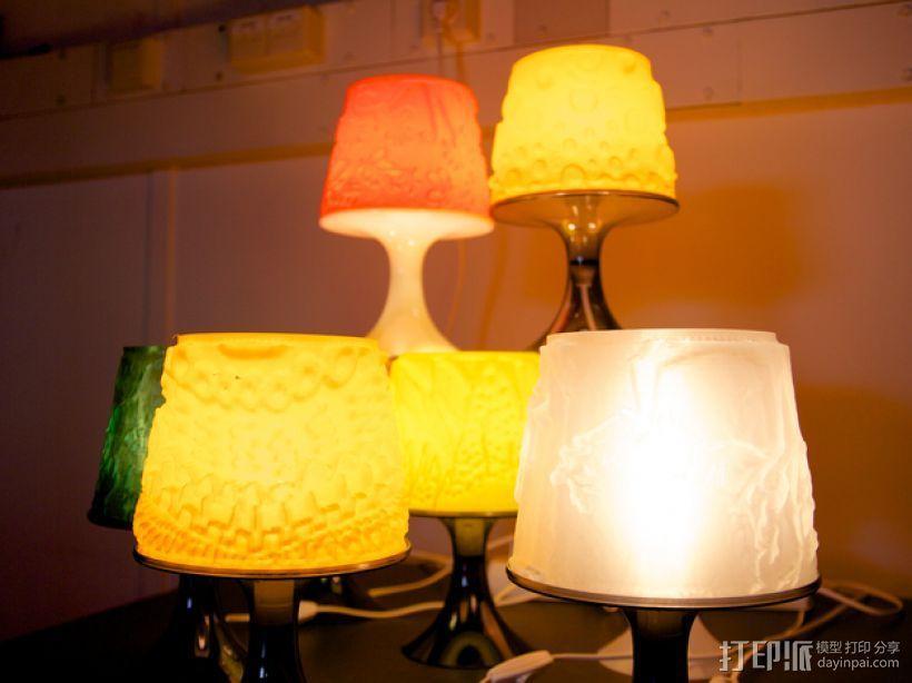宜家拉姆本台灯灯罩模型 3D模型  图7