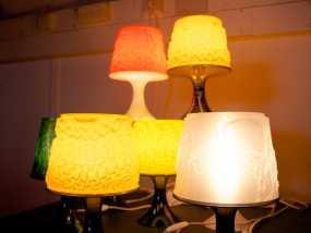 宜家拉姆本台灯灯罩模型 3D模型