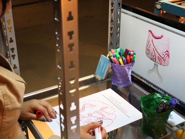 宜家拉姆本台灯灯罩模型 3D模型  图8