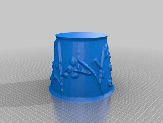 宜家拉姆本台灯灯罩模型 3D模型  图12