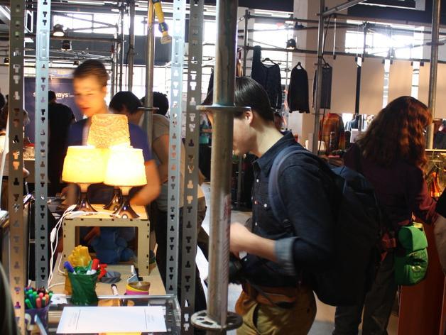 宜家拉姆本台灯灯罩模型 3D模型  图11
