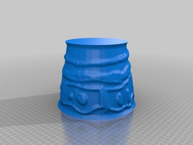 宜家拉姆本台灯灯罩模型 3D模型  图16