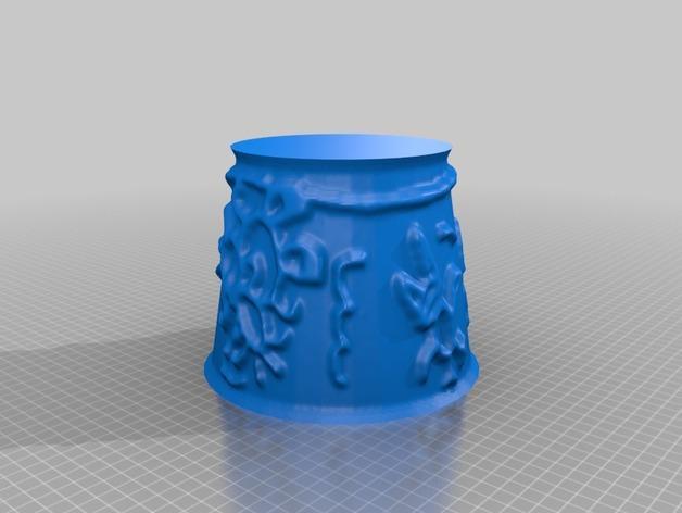 宜家拉姆本台灯灯罩模型 3D模型  图19