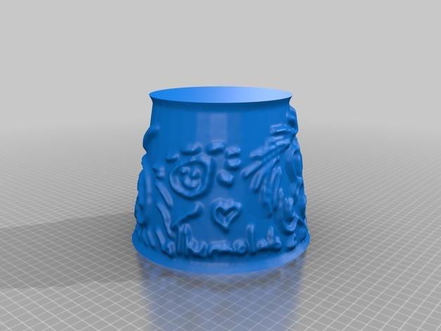 宜家拉姆本台灯灯罩模型 3D模型  图23