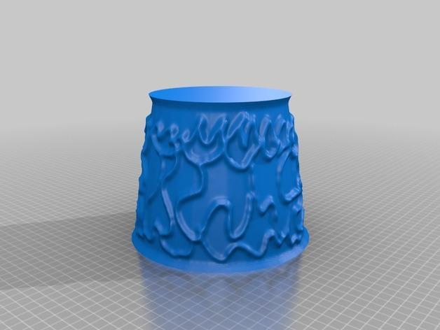 宜家拉姆本台灯灯罩模型 3D模型  图24