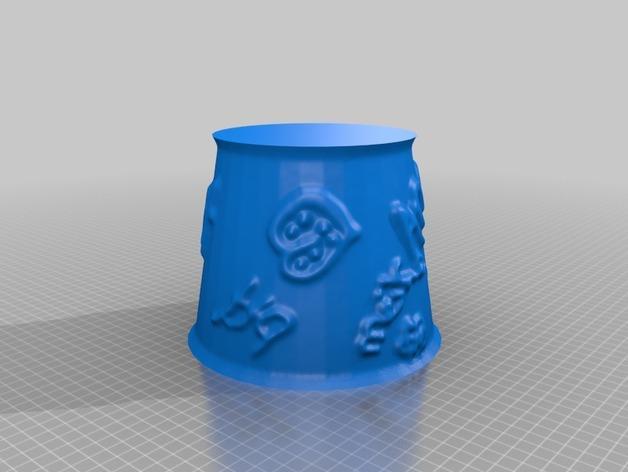 宜家拉姆本台灯灯罩模型 3D模型  图31