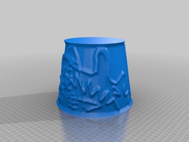 宜家拉姆本台灯灯罩模型 3D模型  图34
