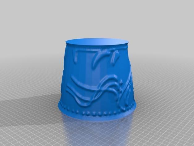 宜家拉姆本台灯灯罩模型 3D模型  图36