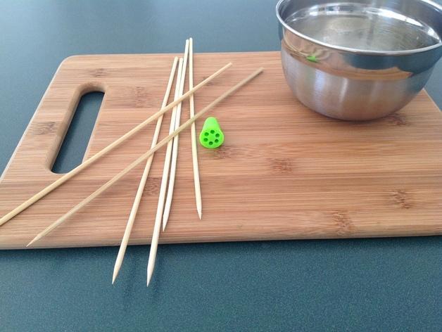 竹签打蛋器模型 3D模型  图2