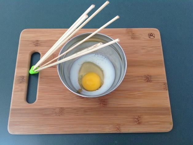 竹签打蛋器模型 3D模型  图3
