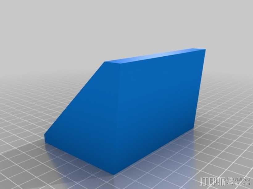 迷你方块日历模型 3D模型  图2