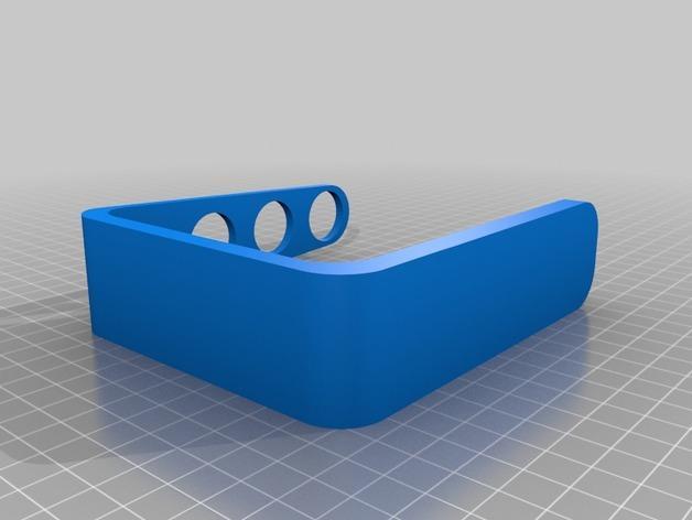 四孔牙刷架模型 3D模型  图2