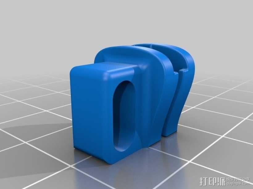 迷你拉链头模型 3D模型  图4