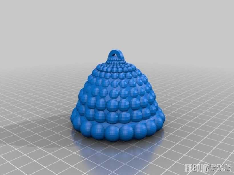 """""""空中水母""""装饰品模型 3D模型  图3"""
