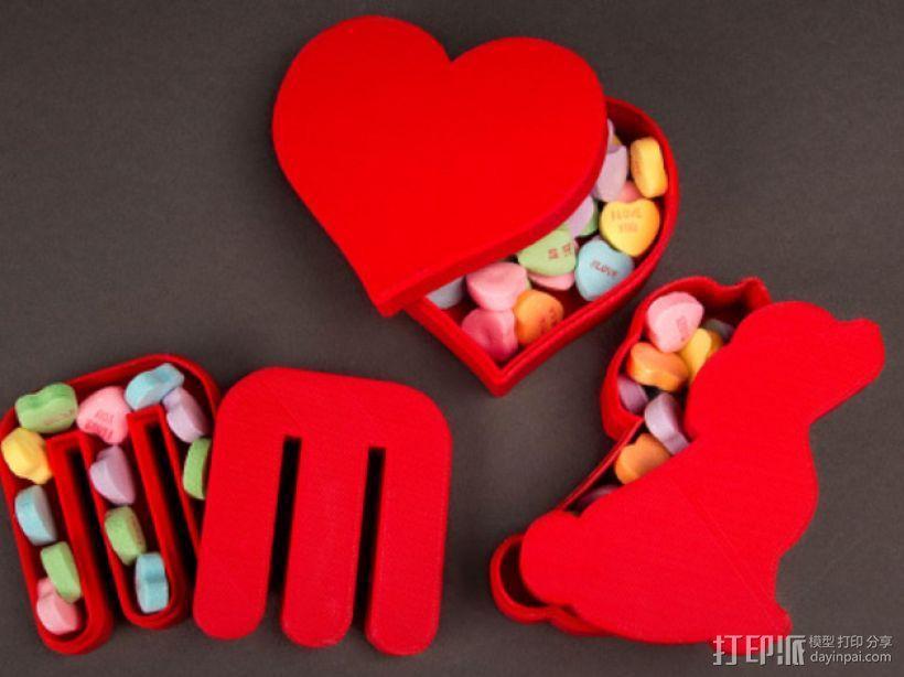 个性化糖果盒模型 3D模型  图1