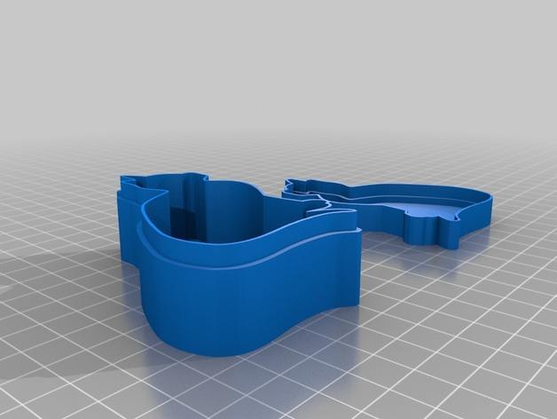 个性化糖果盒模型 3D模型  图3