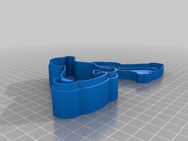 个性化糖果盒模型 3D模型  图2