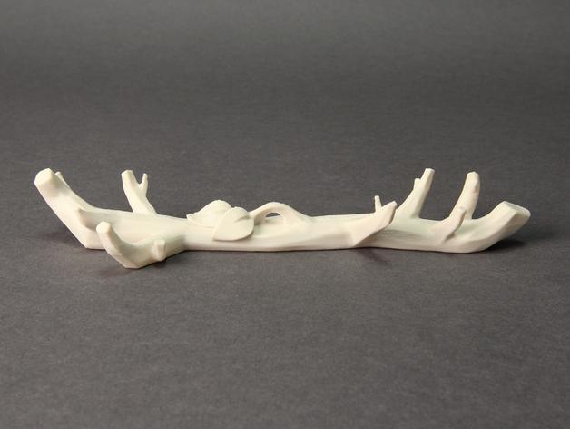 雪花形装饰物模型 3D模型  图3