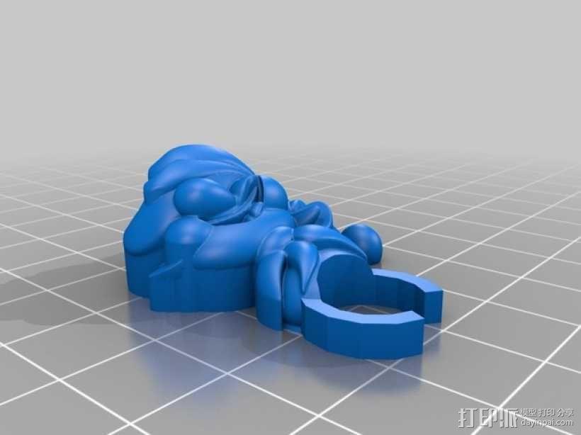 小精灵开瓶器模型 3D模型  图3