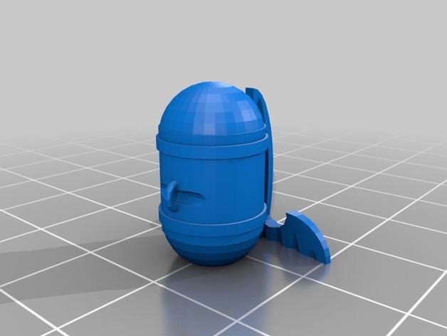 空中城堡装饰物模型 3D模型  图6