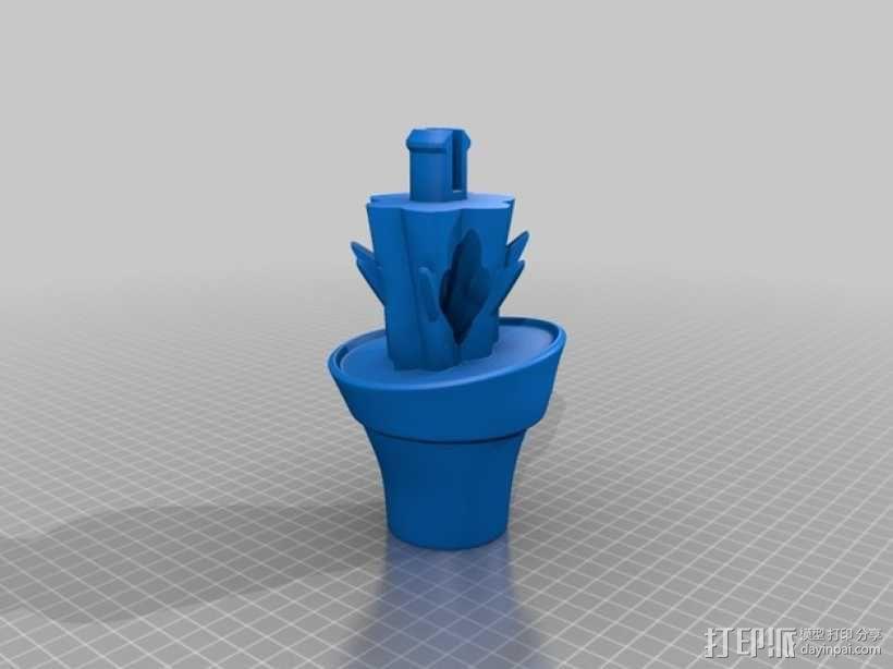 圣诞仙人掌模型 3D模型  图5