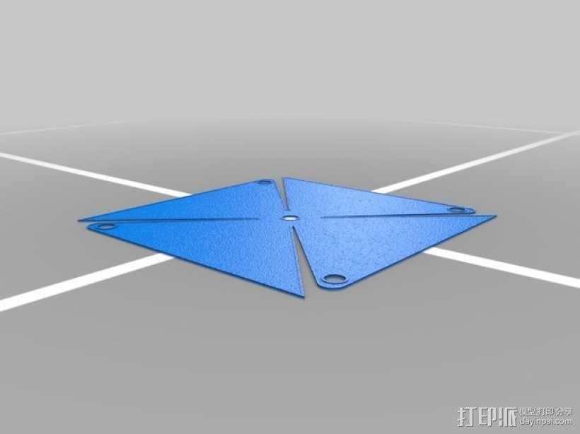玩具风车模型 3D模型  图2