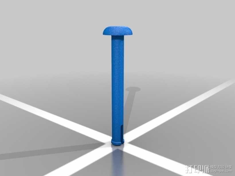 玩具风车模型 3D模型  图3