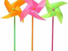 玩具风车模型 3D模型