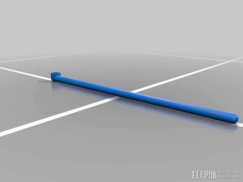 玩具风车模型 3D模型  图4