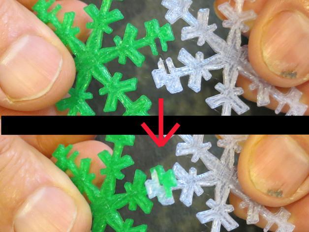雪花形十二面体装饰物 3D模型  图7