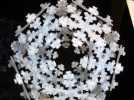 雪花形十二面体装饰物 3D模型 图9