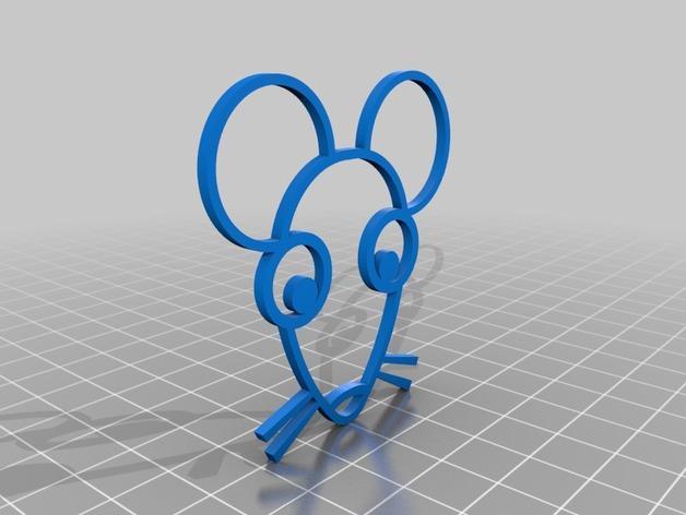 圣诞小老鼠模型 3D模型  图2