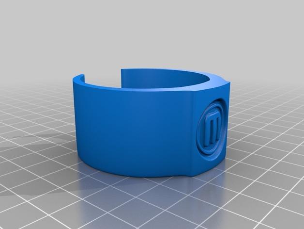 包装纸固定环模型 3D模型  图2
