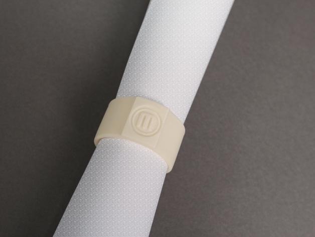 包装纸固定环模型 3D模型  图3
