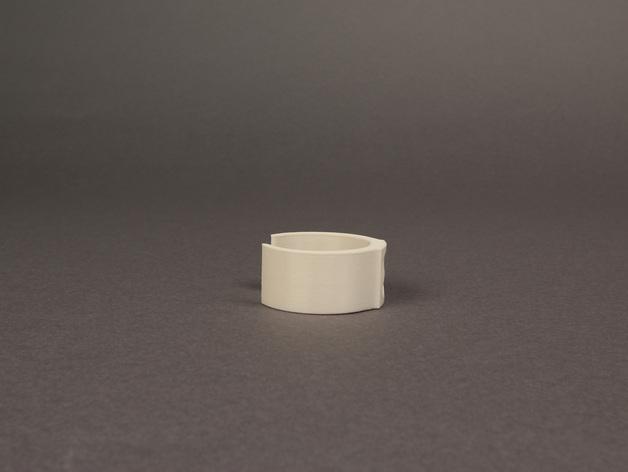 包装纸固定环模型 3D模型  图4