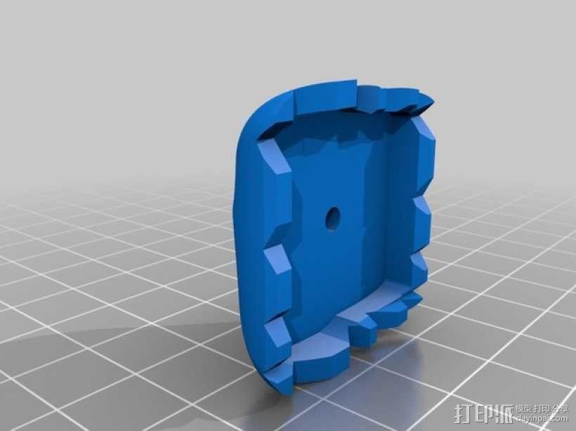 迷你郁金香模型 3D模型  图3