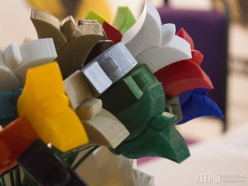 迷你郁金香模型 3D模型  图5
