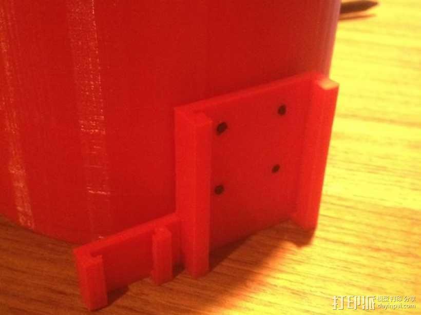 文具盒+铅笔套+伸缩尺 3D模型  图7