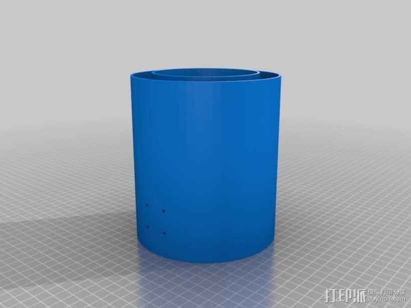 文具盒+铅笔套+伸缩尺 3D模型  图15