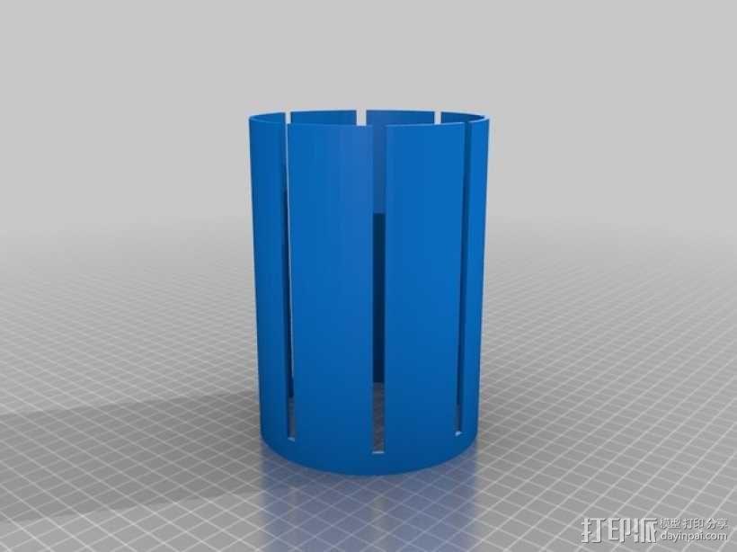 文具盒+铅笔套+伸缩尺 3D模型  图16