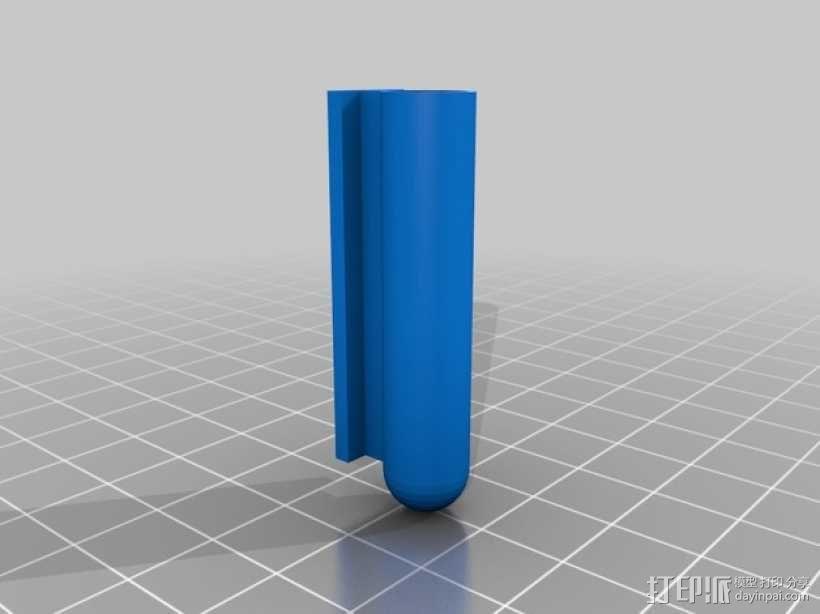 文具盒+铅笔套+伸缩尺 3D模型  图17