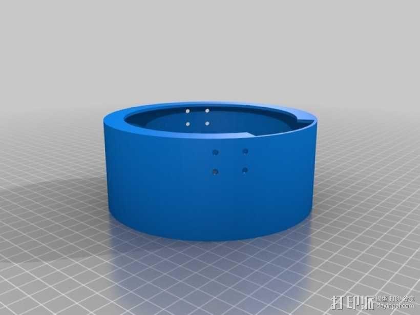 文具盒+铅笔套+伸缩尺 3D模型  图20