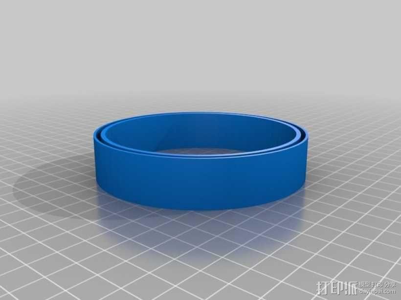 文具盒+铅笔套+伸缩尺 3D模型  图19