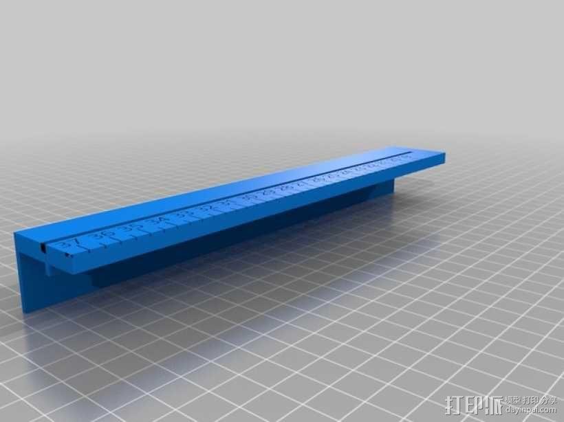 文具盒+铅笔套+伸缩尺 3D模型  图27
