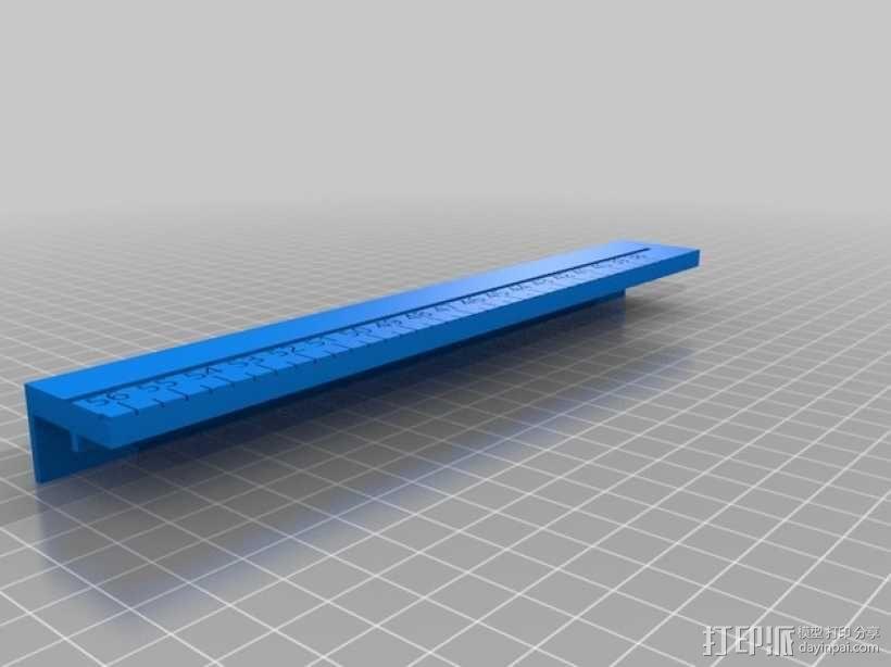 文具盒+铅笔套+伸缩尺 3D模型  图31